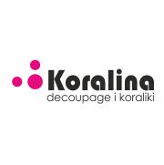 KORALINA – decoupage i koraliki