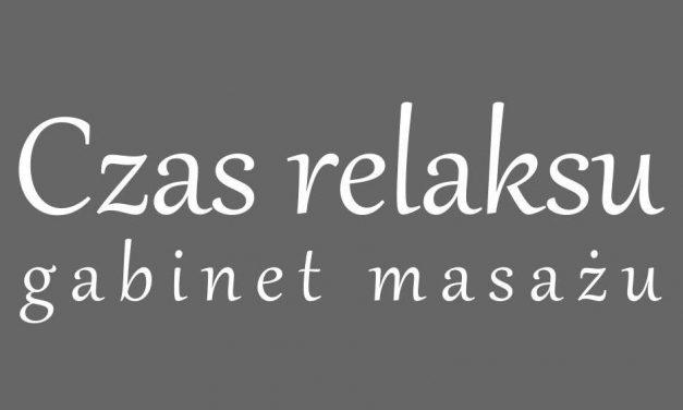 CZAS RELAKSU – gabinet masażu
